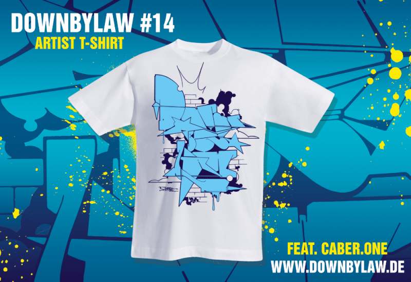 Downbylaw Magazine T-Shirt by Caber