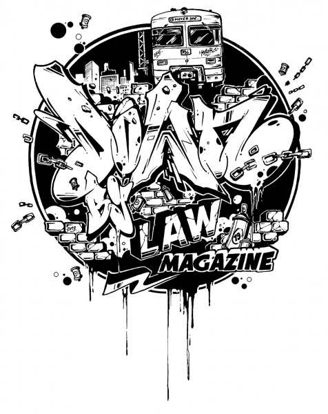 Downbylaw Magazine #19  Scetch - T-Shirt by Moter