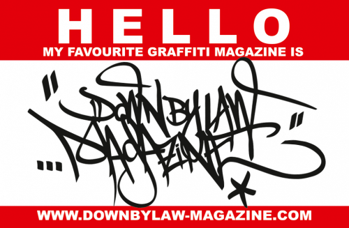 Hello Downbylaw Sticker  10 Pieces