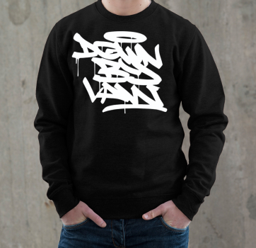 Downbylaw Tag Sweatshirt - White