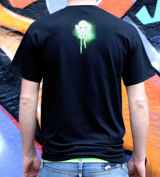 Downbylaw Graffiti T-Shirt Nemo Scetch / Black