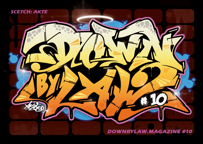 Downbylaw Magazine #10 Sticker
