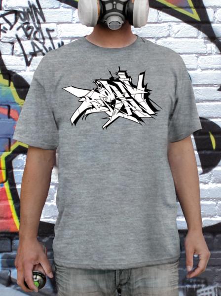 Downbylaw Slider Scetch T-Shirt / Sport Grau