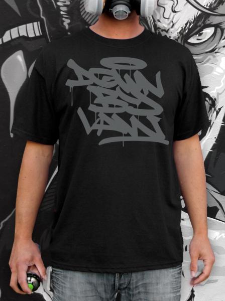 Downbylaw Tag T-Shirt-Schwarz/Grau