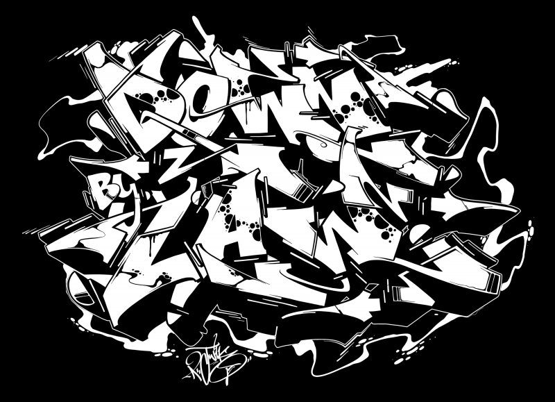 Downbylaw Magazine Shirt by Twik