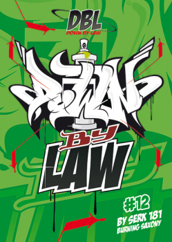 Downbylaw Magazine #12 Sticker