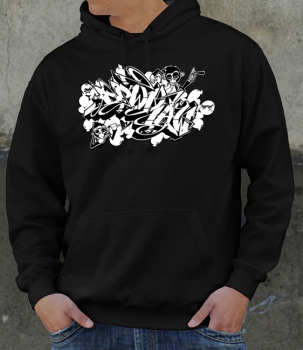 Downbylaw Magazine  Hoodie by Dater - Love Letters