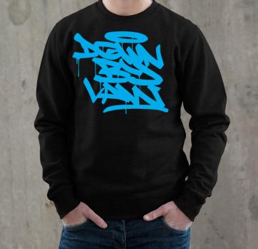 Downbylaw Tag Sweatshirt - Blau