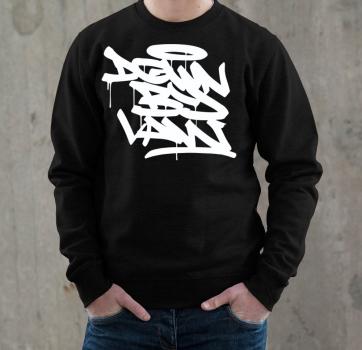 Downbylaw Tag Sweatshirt - Weiss