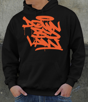 Downbylaw Tag Hoddie - Orange