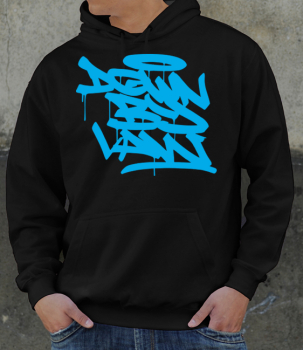 Downbylaw Tag Hoddie - Blue