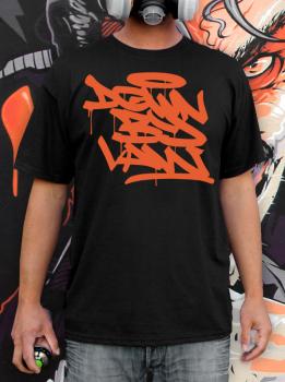 Downbylaw Tag T-Shirt-Orange